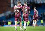 Rangers v St Johnstone&hellip;16.02.19&hellip;   Ibrox    SPFL<br />Chris Kasne and Liam Craig leaves the pitch at full time after earning a point<br />Picture by Graeme Hart. <br />Copyright Perthshire Picture Agency<br />Tel: 01738 623350  Mobile: 07990 594431