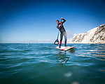 2017-04-28 - SUP exploring at Freshwater Bay