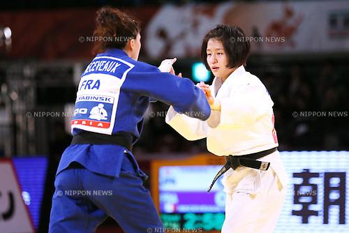 Tsukasa Yoshida (JPN), DECEMBER 4, 2015 - Judo : IJF Grand Slam Tokyo 2015 International Judo Tournament Women's -57kg Final at Tokyo Metropolitan Gymnasium, Tokyo, Japan. (Photo by Sho Tamura/AFLO SPORT)