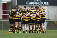Wednesday 7th March 2018 |  RBAI vs Royal School Armagh<br /> <br /> RBAI during the Ulster Schools Cup Semi-Final between RBAI vs Royal School Armagh Stadium, Ravenhill Park, Belfast, Northern Ireland. Photo by John Dickson / DICKSONDIGITAL