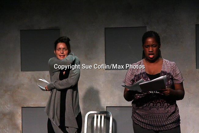 "One Life To Live's Florencia Lozano ""Tea Delgado stars with Cecily Benjamin n ""Verbatim Verboten - NYC"" on October 18, 2010 at the WorkShop Theater, NYC. (Photo by Sue Coflin/Max Photos)"
