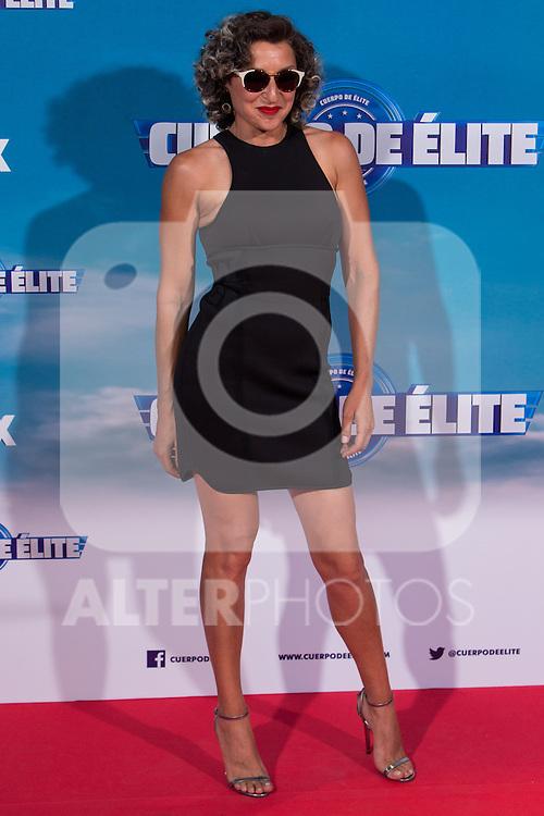 "Spanish actress Mariola Fuentes during the premiere of ""Cuerpo de Elite"" at Capitol cinema. Madrid. August 25, 2016. (ALTERPHOTOS/Rodrigo Jimenez)"