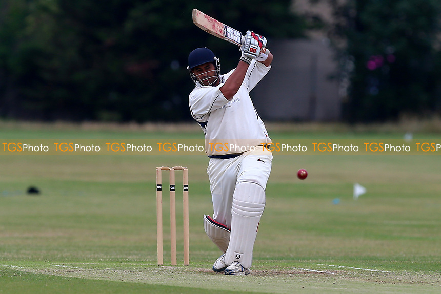 M Ismail in batting action for Hainault during Hainault and Clayhall CC (batting) vs Oakfield Parkonians CC, Shepherd Neame Essex League Cricket at the Jack Carter Pavilion on 15th July 2017