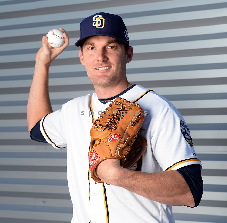 San Diego Padres Phillip Humber (53) during photo day on February 26, 2016 in Peoria, AZ.