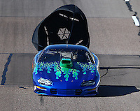 Feb 26, 2016; Chandler, AZ, USA; NHRA top sportsman driver XXXX during qualifying for the Carquest Nationals at Wild Horse Pass Motorsports Park. Mandatory Credit: Mark J. Rebilas-