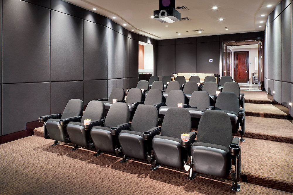 Acoustic Walls and Tiered Seating
