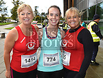 Deirdre and Aoife Harmon and Mary Kelly who took part in the SOSAD 5K run. Photo:Colin Bell/pressphotos.ie