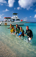 Scuba divers, Curacao