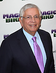 "David Stern pictured at the ""Magic/Bird"" Opening Night Arrivals at the Longacre Theatre in New York City on April 11, 2012 © Walter McBride / WM Photography  Ltd."