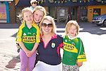 Molly Nolan, Dervela Jeffers, Diane Jeffers, Katie Nolan Supporting kerry in the all Ireland Final, Kerry V Donegal, on Sunday