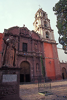 The Oratorio de San Felipe Neri church in San Miguel de Allende, Mexico
