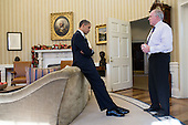 "Dec. 14, 2012.""The President reacts as John Brennan briefs him on the details of the shootings at Sandy Hook Elementary School in Newtown, Conn. The President later said during a TV interview that this was the worst day of his Presidency."".Mandatory Credit: Pete Souza - White House via CNP"