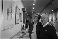 Europe/Europe/France/Midi-Pyrénées/46/Lot/Saint-Céré: Pierre et André Delbos, amis de Lurçat, Doisneau, Sempé dans leur Galerie d'Art: Le Casino [Non destiné à un usage publicitaire - Not intended for an advertising use]