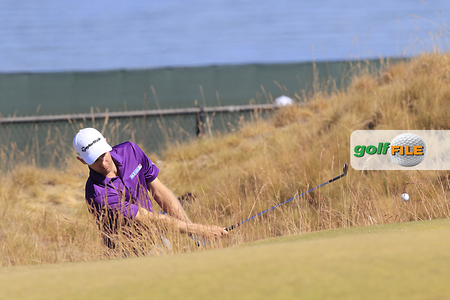 Brendon TODD (USA) on the 17th green during Wednesday's Practice Day of the 2015 U.S. Open 115th National Championship held at Chambers Bay, Seattle, Washington, USA. 6/17/2015.<br /> Picture &copy; Golffile/Eoin Clarke