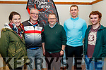 Pictured at the Chain Gang information evening, held at the Meadowlands  Hotel, Tralee, on Thursday, February 27th last were l-r: Aoife Cahill, Dave Elton, John Murray, George Bastible and David Ryle.