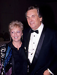 Danny Aiello with his wife on April 10, 1990 in New York City.