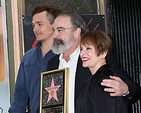 LOS ANGELES - FEB 12:  Rupert Friend, Mandy Patinkin, Patti LuPone at the Mandy Patinkin Star Ceremony on the Hollywood Walk of Fame on February 12, 2018 in Los Angeles, CA