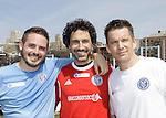 04-19-14 NYFEST Soccer - Brett Claywell OLTL - Ethan Hawke & wife - Ethan Zohn