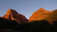 Kolob Canyons, Zion National Park, Utah.