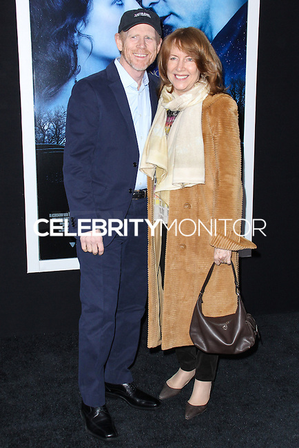 "NEW YORK, NY - FEBRUARY 11: Ron Howard and Cheryl Howard at the World Premiere Of Warner Bros. Pictures' ""Winter's Tale"" held at Ziegfeld Theatre on February 11, 2014 in New York City. (Photo by Jeffery Duran/Celebrity Monitor)"