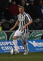Gary Teale in the St Mirren v St Johnstone Clydesdale Bank Scottish Premier League match played at St Mirren Park, Paisley on 8.12.12.
