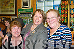 Kitty Brennan, Peggy Reidy and Annie O'Connell Castleisland enjoying the Padraig O'Keeffe traditional session in Sheila Prenderville, Castleisland on Monday     Copyright Kerry's Eye 2008