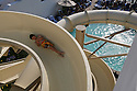 Ryan Ewart, 9, slides down a 3-story tall, 120-foot long water slide at the La Costa Resort and Spa in 2009. Every Thursday and Saturday the resort holds a sliding contest for resort guests.  for the North County Times