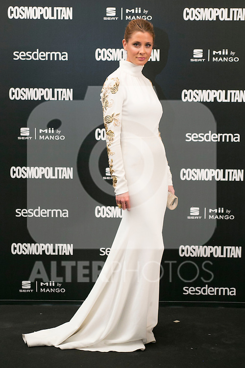 Elisabeth Reyes attend the photocall of the Cosmopolitan Fun Fearless Female 2014 Awards at the Ritz Hotel in Madrid, Spain. October 20, 2014. (ALTERPHOTOS/Carlos Dafonte)