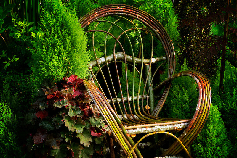 Branch chair. Bauman Farms. Gervis, Oregon