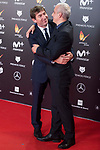 Antonio de la Torre and Pablo Berger attends red carpet of Feroz Awards 2018 at Magarinos Complex in Madrid, Spain. January 22, 2018. (ALTERPHOTOS/Borja B.Hojas)
