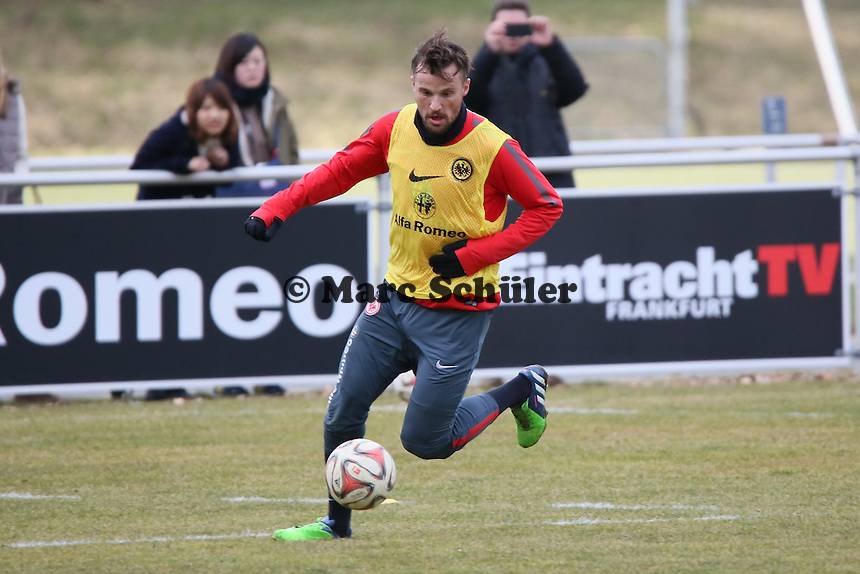 Haris Seferovic - Eintracht Frankfurt Training, Commerzbank Arena