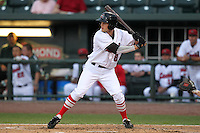 Great Lakes Loons outfielder Nick Buss during a game vs. the Dayton Dragons at Dow Diamond in Midland, Michigan August 19, 2010.   Great Lakes defeated Dayton 1-0.  Photo By Mike Janes/Four Seam Images