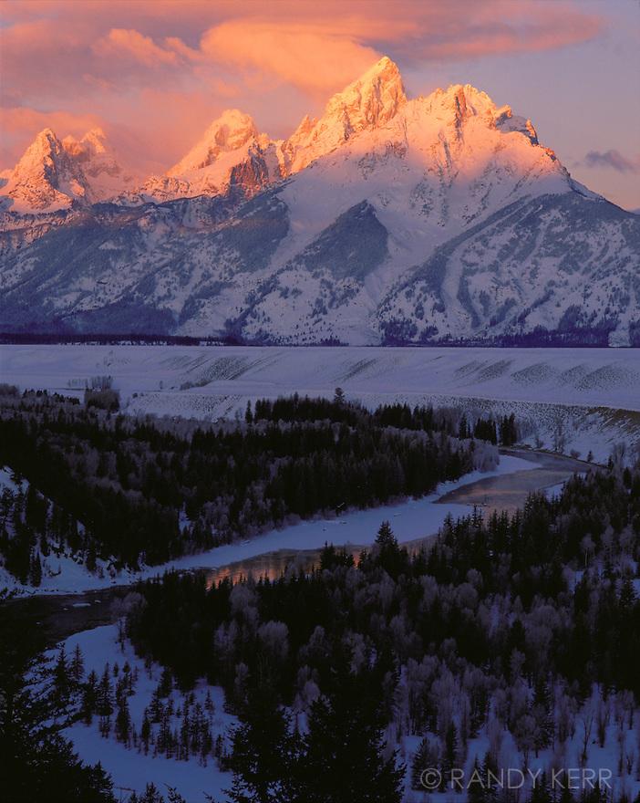 Grand Tetons sunrise