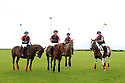 Tyrella House Polo players (from left to right) Nicky Wilson, Jamie McCarthy, Paul Donnelly and Richard Suitor, at Tyrella House, County Down, Monday June3rd, 2019. (Photo by Paul McErlane for Belfast Telegraph)