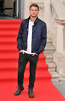 Jeremy Irvine at the &quot;The Wife&quot; Film4 Summer Screen opening gala &amp; launch party, Somerset House, The Strand, London, England, UK, on Thursday 09 August 2018.<br /> CAP/CAN<br /> &copy;CAN/Capital Pictures
