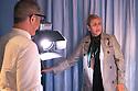 Patricia Urquiola, Spanish designer,  at Spazio Pontaccio, a design gallery in Milan, April 11, 2016. &copy; Carlo Cerchioli<br /> <br /> Patricia Urquiola, d3signer spagnola, allo Spazio Pontaccio, galleria di design a Milano 11 parile, 2016.