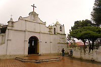 Templo El Calvario church in Coban, Alta Verapaz, Guatemala.
