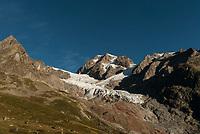 Glacier de la Lee Blanche, Mont Blanc, September 2007