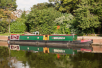 Morgana barge, Newark on Trent, Nottinghamshire