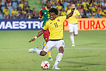 Juan Guillermo Cuadrado of Colombia during the friendly match between Camerun and Colombia in Madrid, Spain 13 jun 2017.(ALTERPHOTOS/Rodrigo Jimenez)
