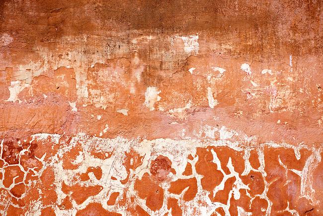 Orange Pain Peeling textured background