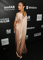 HOLLYWOOD, LOS ANGELES, CA, USA - OCTOBER 29: Cara Santana arrives at the 2014 amfAR LA Inspiration Gala at Milk Studios on October 29, 2014 in Hollywood, Los Angeles, California, United States. (Photo by Celebrity Monitor)
