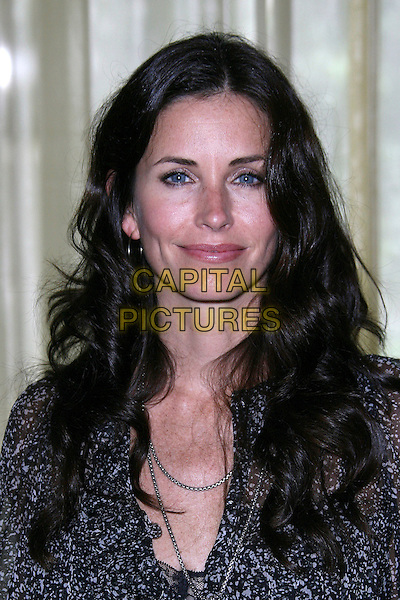 "COURTENEY COX ARQUETTE .AFI Honors Hollywood's Arquette Family With Sixth Annual ""Platinum Circle Award"" - Arrivals held at The Regent Beverly Wilshire Hotel, Beverly Hills, California , USA..May 10th, 2006.Ref: ZL/ADM.headshot portrait courtney eye contact eyes to camera.www.capitalpictures.com.sales@capitalpictures.com.©Zach Lipp/AdMedia/Capital Pictures."