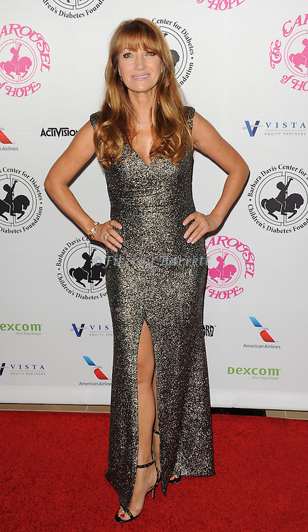 Jane Seymour arriving at The 2016 Carousel Of Hope Ball held at the Beverly Hilton Hotel Beverly Hills California October 8, 2016.