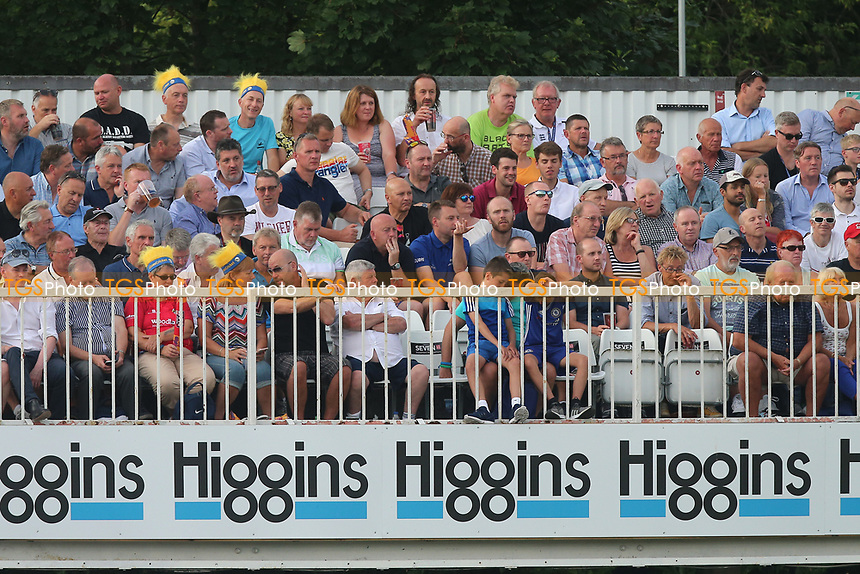 Spectators look on during Essex Eagles vs Surrey, NatWest T20 Blast Cricket at The Cloudfm County Ground on 7th July 2017