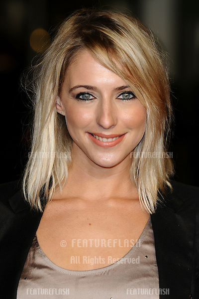 "Ali Bastian arriving for the premiere of ""Rum Diary"" at the Odeon Kensington cinema, London. 03/11/2011 Picture by: Steve Vas / Featureflash"