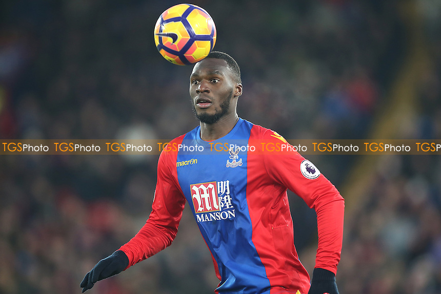 Christian Benteke of Crystal Palace during Crystal Palace vs Everton, Premier League Football at Selhurst Park on 21st January 2017
