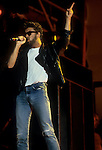 george Michael of Wham at Live Aid, Wembley Stadium 1985