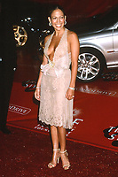 LOS ANGELES - MAR 3:  Jennifer Lopez at the Jaguar's Tribute to Style at the Rodeo Drive on March 3, 2001 in Beverly Hills, CA