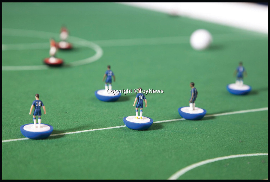 BNPS.co.uk (01202 558833)<br /> Pic: ToyNews/BNPS<br /> <br /> ***Please Use Full Byline***<br /> <br /> Subbuteo: Number 5.<br /> <br /> A unique survey has revealed the top 50 greatest toys of all time according to the bosses of Britain's biggest toy companies. <br /> <br /> For the first time, toy experts from across the country have come together to cast their votes on the toys they think have shaped the industry over the last 50 years.<br /> <br /> Executives from 100 toy companies took part in the survey, carried out by industry bible ToyNews for a bumper edition launched at the London Toy Fair.